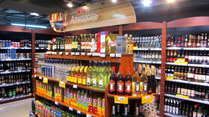 Запрет на продажу алкоголя до 21 года