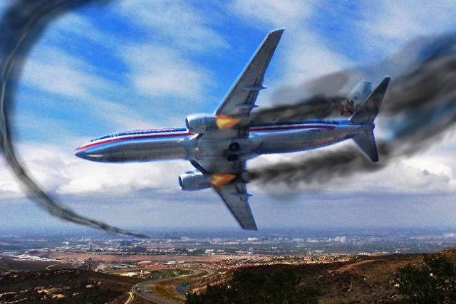 Падения самолётов фото