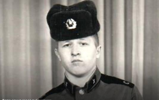 Рядовой советской армии Олег Каньков. Фото: из Фейсбука г-на Канькова.