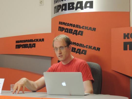 Андрей Заякин в Иркутске