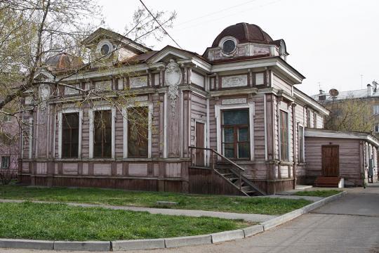 Строение Дома актёра вИркутске дождалось реконструкции