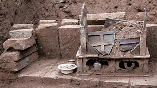 Найдена шкатулка с прахом Будды