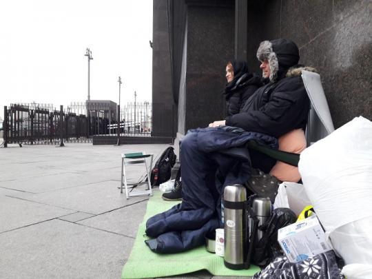 10 день голодовки зоозащитников