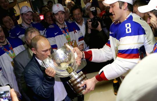 Евгений Малкин присоединился к«Команде Путина»