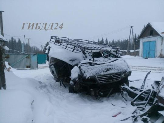 Шесть человек пострадали вДТП савтобусом вКрасноярском крае