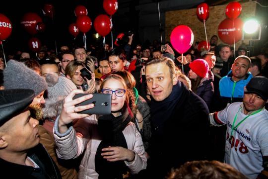 Навальный «выдвинется» впрезиденты на береге в столице России — Лжекандидат 1-ый