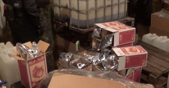 Сеть поизготовлению ипродаже суррогатного алкоголя устранили вИркутской области