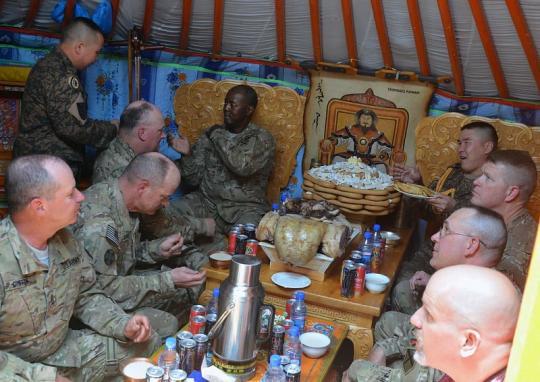 Английские военные вАфганистане остались недовольны подарками кРождеству