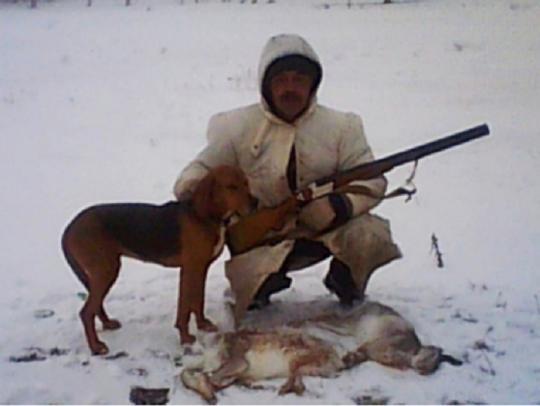 ВПоволжье собачка застрелила владельца наохоте
