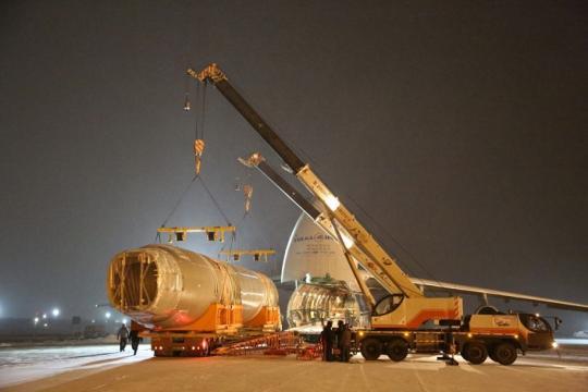 Фюзеляж самолета МС-21-300 доставлен вЖуковский для ресурсных испытаний